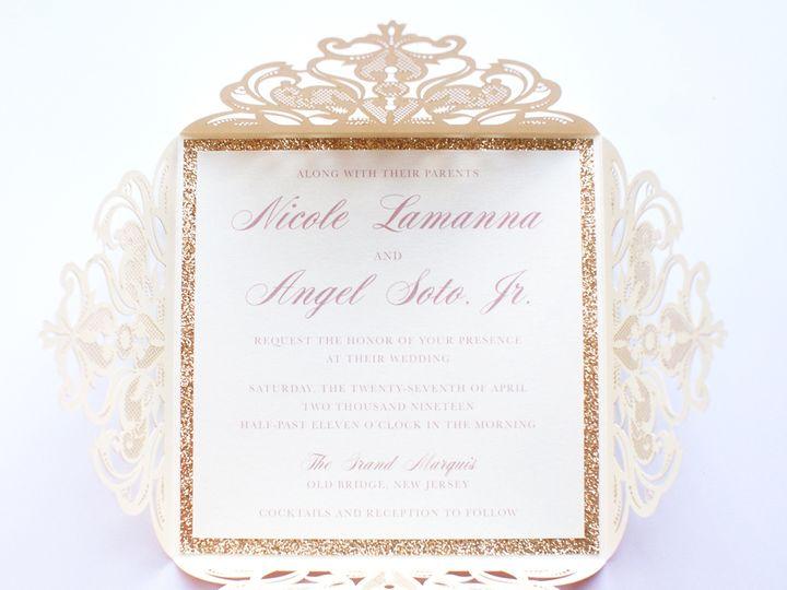 Tmx Soto Wedding 2 51 1064677 1557371334 Sunnyside, NY wedding invitation
