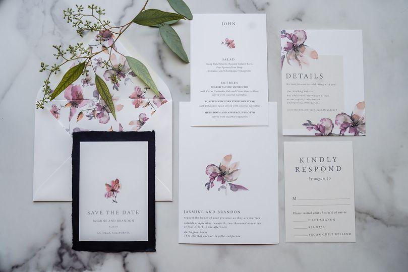 Floral Stem Suite
