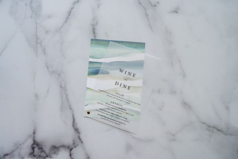 Beach overlay menu