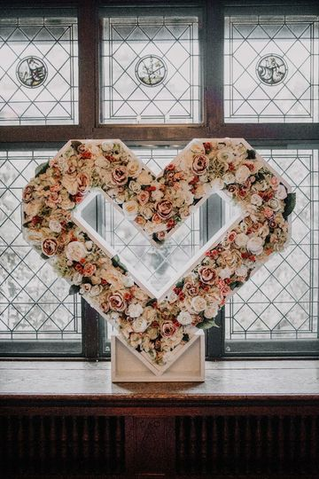 Floral Heart - Large