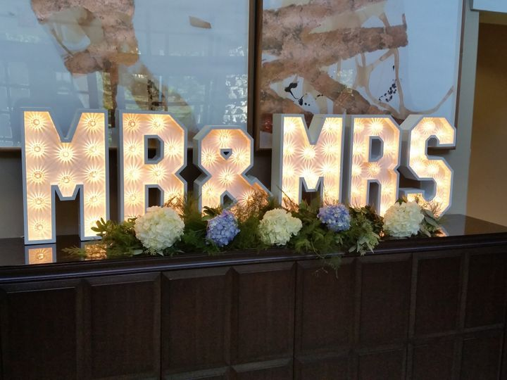Tmx Mr Mrs With Hydrangeas Closeup 51 755677 V1 Needham, MA wedding eventproduction