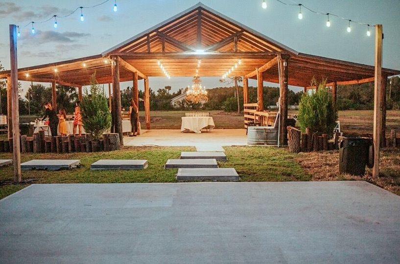 Illuminated barn