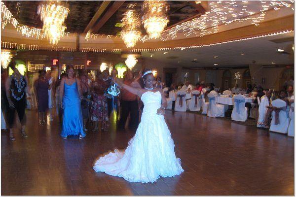 Partying bride