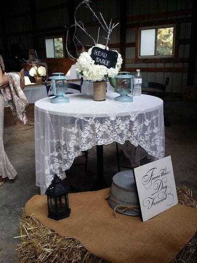 Country glam ~ sweet table