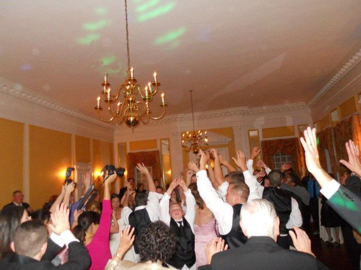 Wedding party at Grey Rock Mansion - Pikesville, MD