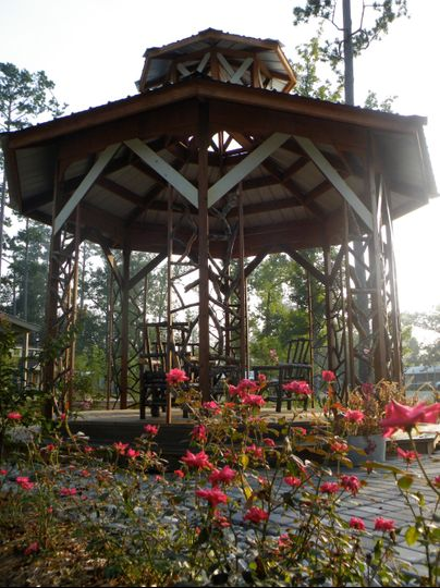 The Gazebo From The Side