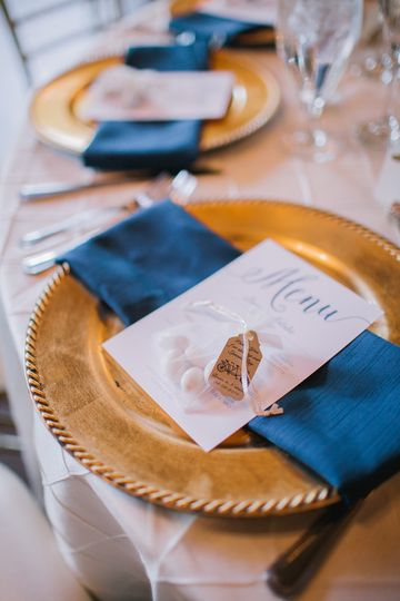 Table setting and menu