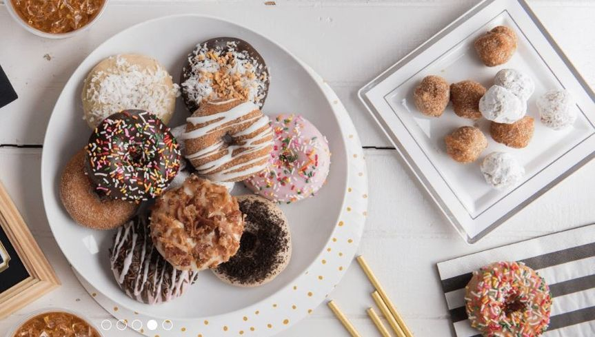 Delectable donuts