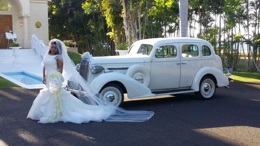 1936 Century Wedding limo