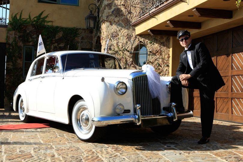 1961 Bentley Wedding car