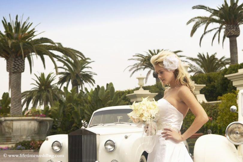 1962 Rolls Wedding car