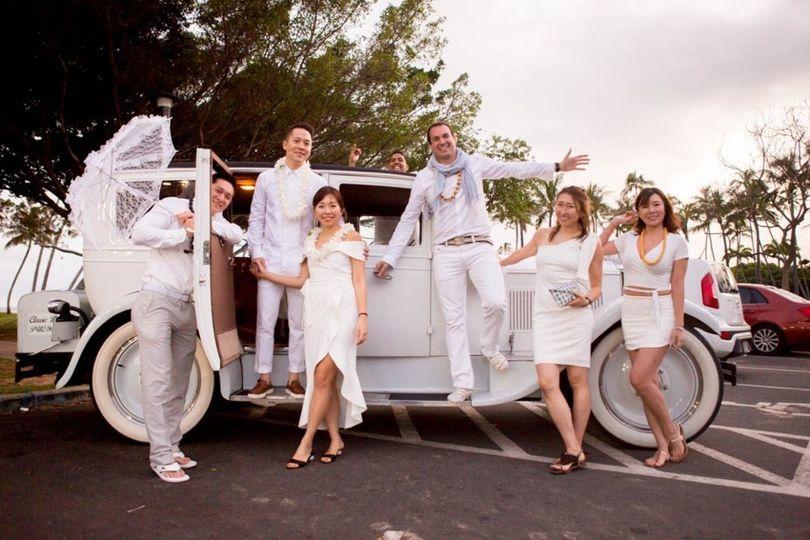 1927 Packard - Wedding limo