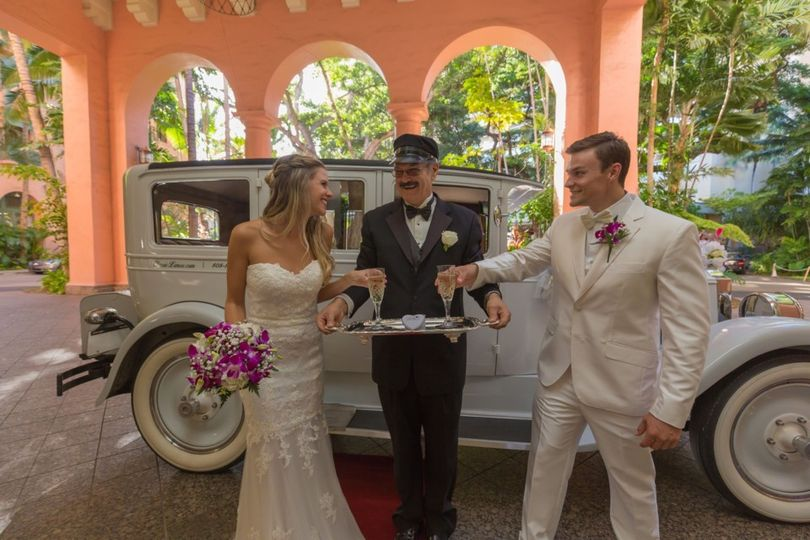 Wedding car - 1927 Packard