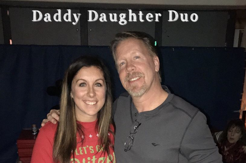 Daddy daughter duo