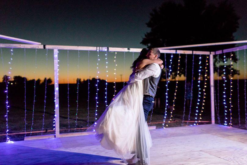 Dance floor and lights