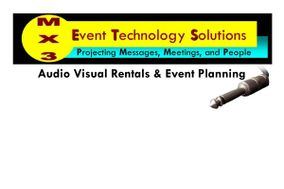 MX3 Audio Visual Rentals