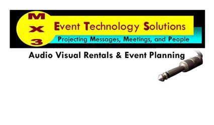 MX3 Audio Visual Rentals