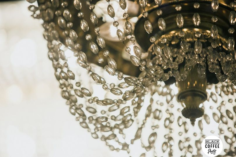 Chandelier in Crystal Ballroom