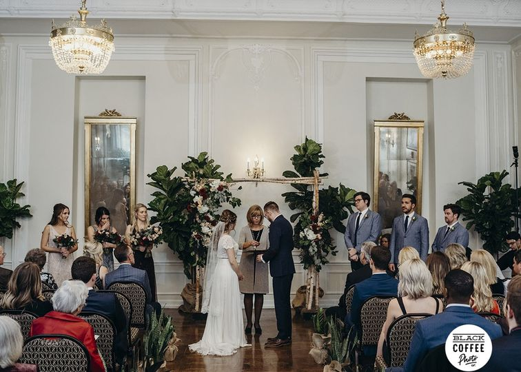 Ceremony in Crystal Ballroom
