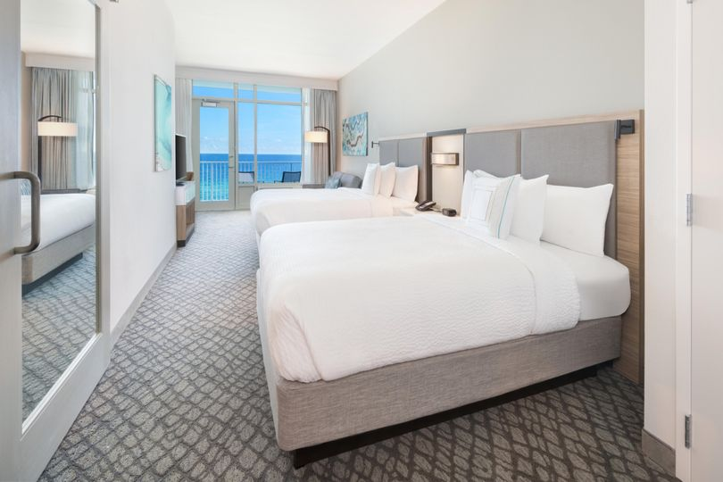 Hotel Room Gulf View