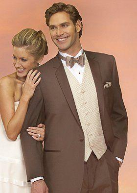 Light brown suit
