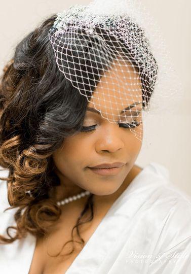 The veiled beauty