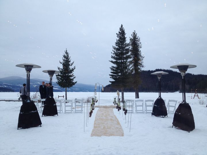 Winter Outdoor Ceremony