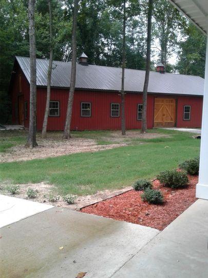 The Barn from the Farm House