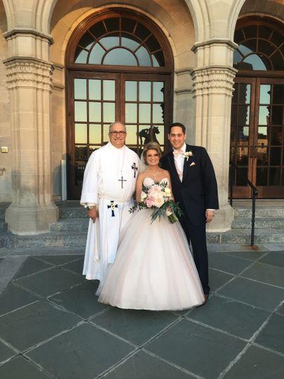 An April wedding at the Chrysler Museum