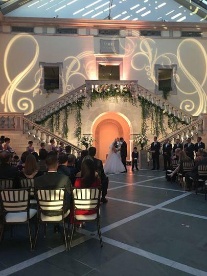 Wedding at the Chrysler Museum