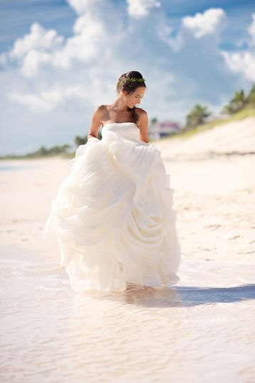 Private island wedding in the Abacos, Bahamas