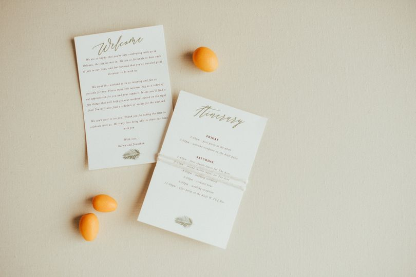 Indian American fusion wedding at the Acre Orlando