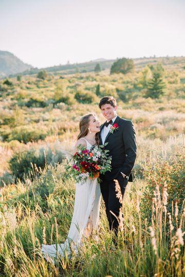 Pocatello Bride and Groom