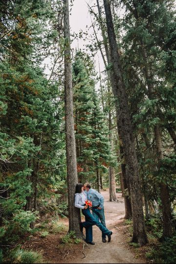 Casual Forest Elopement