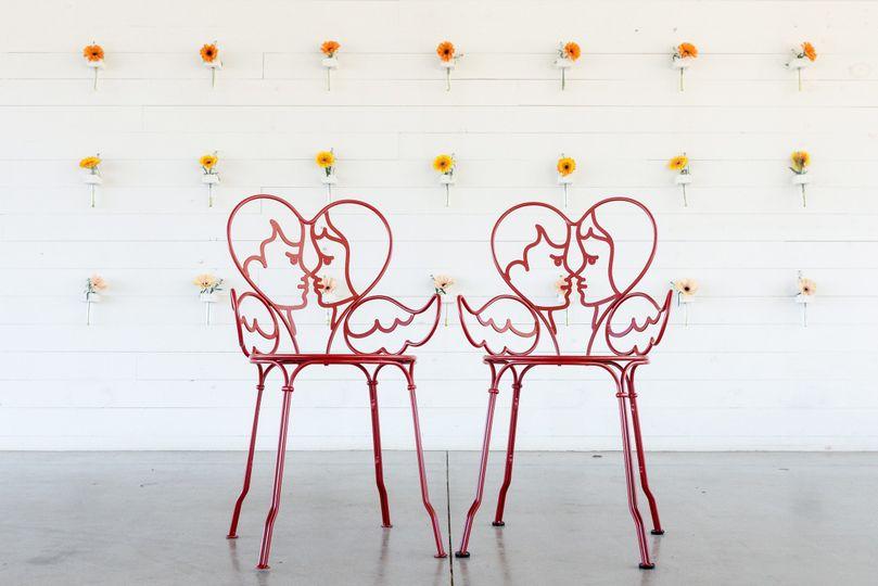 partymoontowerangel chair romantic event wedding r