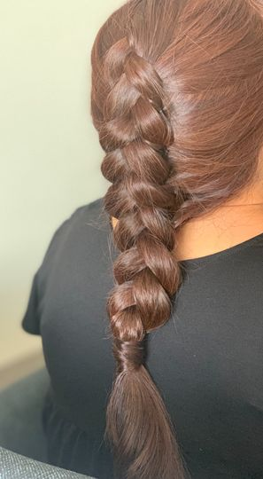 Braid for mother of the bride