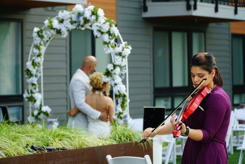 Electric Violin For Weddings