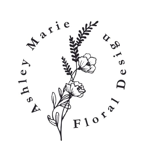 d047635f1628b194 Ashley Marie Floral Logo