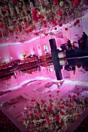 Mirrored dance floor!!! Your guests will definitely be talking about this. This floor will really...