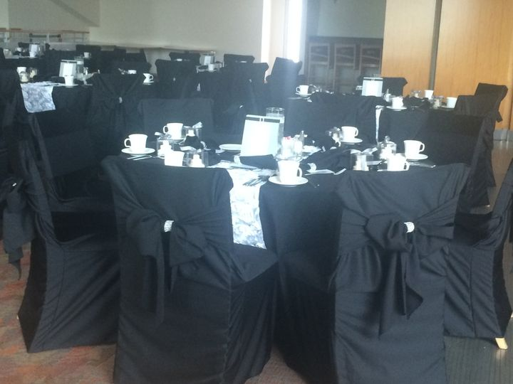 Yes black on black with some bling!! On Paul Brown Stadium's over size chairs.