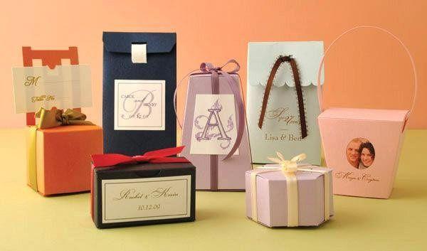 Designer Favor Boxes