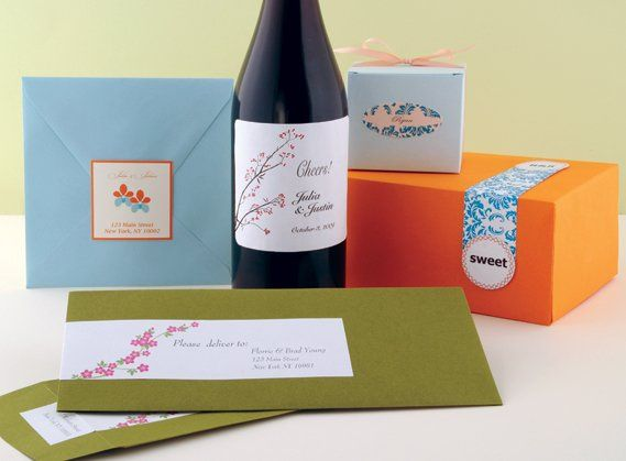 Seals for favors and invitations