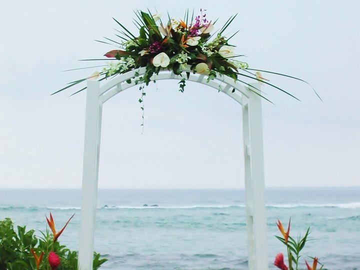 Tmx Hawaiian Wedding Arbor 51 1917777 158550278159689 Wyoming, MI wedding florist