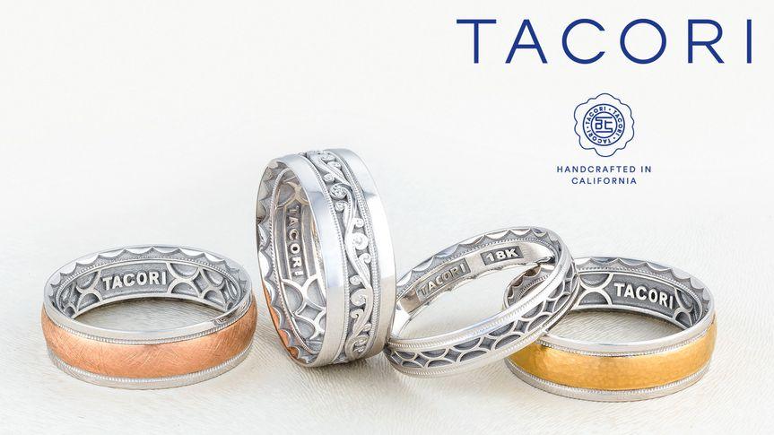 Tacori wedding bands