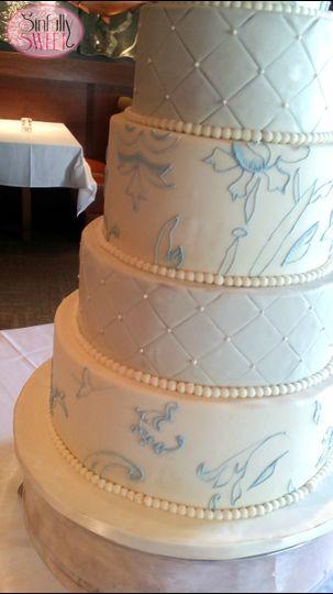 Custom wedding cakes in Houston Texas