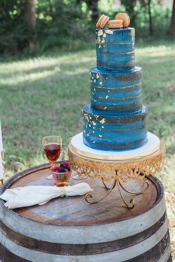 Naked wedding cakes in Houston Texas