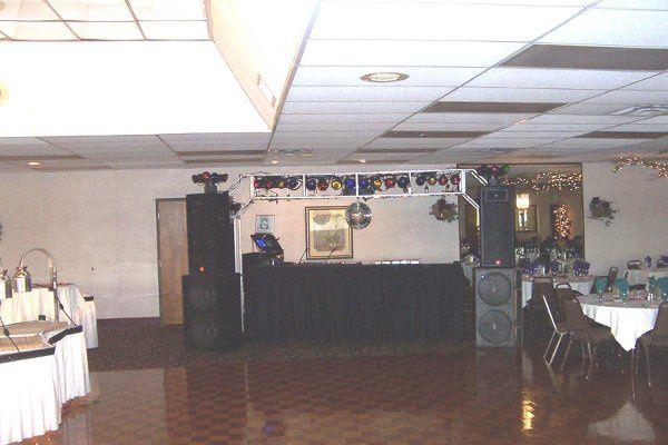 Basic Wedding Reception System set up