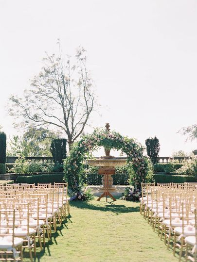 Greystone Mansion Ceremony