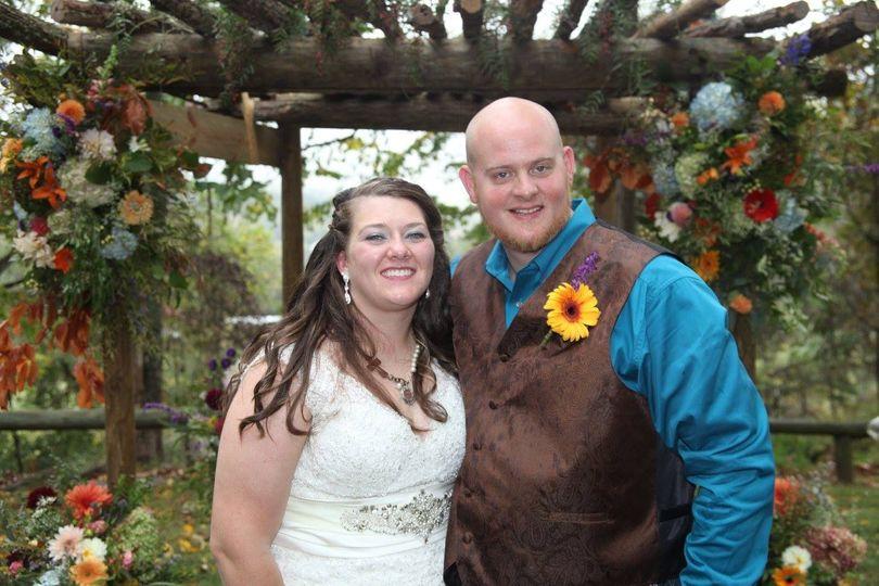 G & K Wedding fall