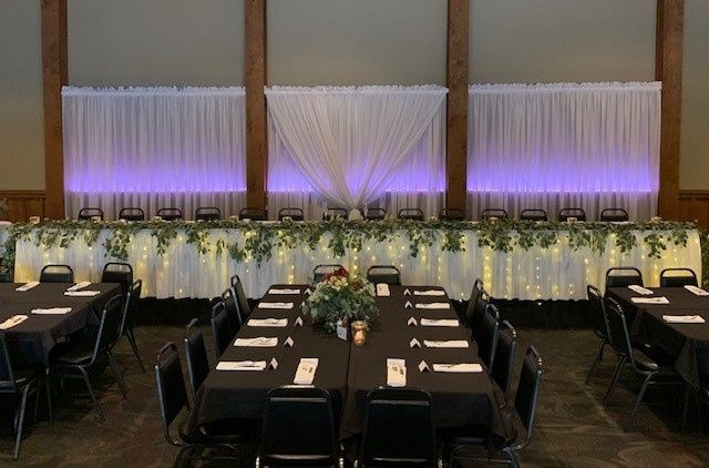 Head table glamore